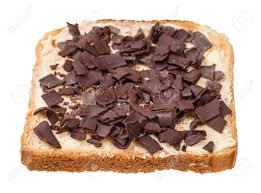 Dutch Sweet Toast With Butter And Chocoladevlokken (topping From ...